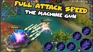 IRITHEL MAX ATTACK SPEED BUILD | FUNNY TROLL BUILD  (Mobile Legends)