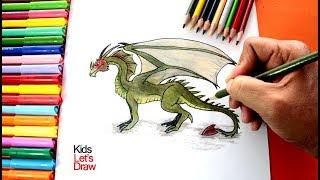 Cómo dibujar un Dragón | How to Draw a Dragon