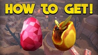 HOW TO GET THE RUBY EGG + THE AMBER EGG! - ROBLOX Egg Hunt 2017