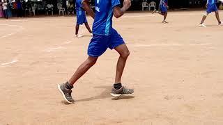 Anna university Zonal 8 handball match 2016 Avsec vs Sona clg ....