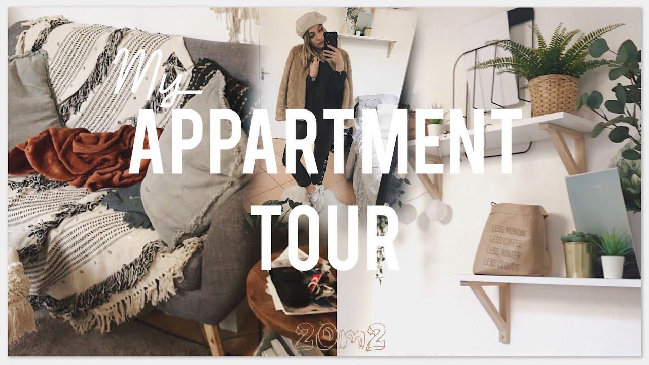 APPARTEMENT TOUR / Je vous montre mon studio de 20m2