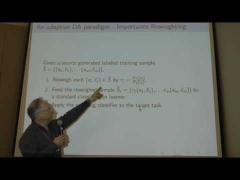 NIPS 2015 Workshop (Ben-David) 15616 Transfer and Multi-Task Learning: Trends and New Perspectives
