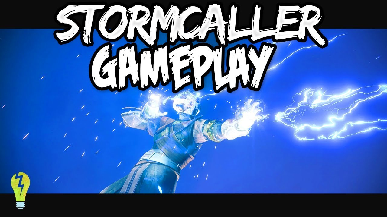 Warlock stormcaller 3rd subclass gameplay destiny 2 youtube - Warlock stormcaller ...