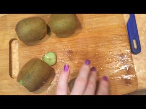 Healthy Food! Смузи из киви и мандарина!!
