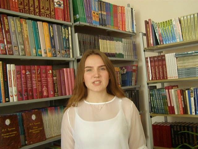 Изображение предпросмотра прочтения – ВиолеттаЕгорова читает произведение «Стихотворение в прозе. Порог» И.С.Тургенева