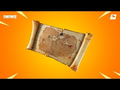 *NEW* Treasure Map In Fortnite