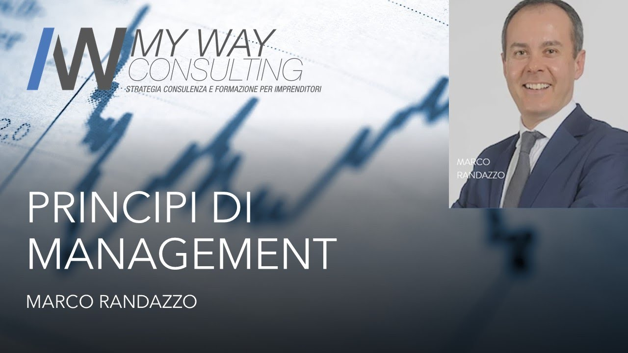 Principi di management: piano d'impresa e Balanced Scorecard