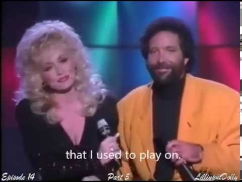 Green Green Grass of Home - ( With lyrics )-- 1987-- Dolly Parton & Tom Jones