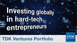 TDK Ventures Portfolio