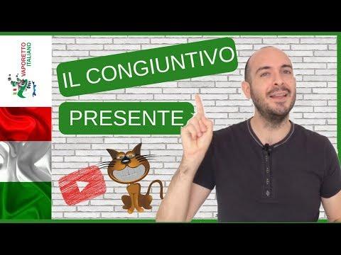 IL CONGIUNTIVO PRESENTE IN ITALIANO | Come Si Forma?
