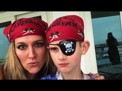 Disney Dream Day 2, Concierge Level, Pirate Night, Senses Spa Couples Massage
