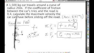 Ch 7 - Circular Motion - Car On Curve.mp4