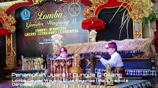 Lomba Gender Wayang Style Banjar Kayumas
