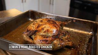 Lemon &amp Herb Whole Roasted Chicken