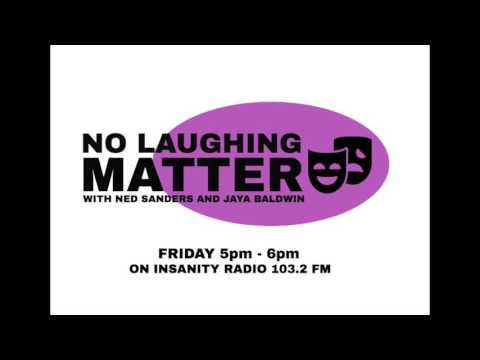 No Laughing Matter: Episode 5 - Mental Health and Comedy (Guest - Guy Barry)