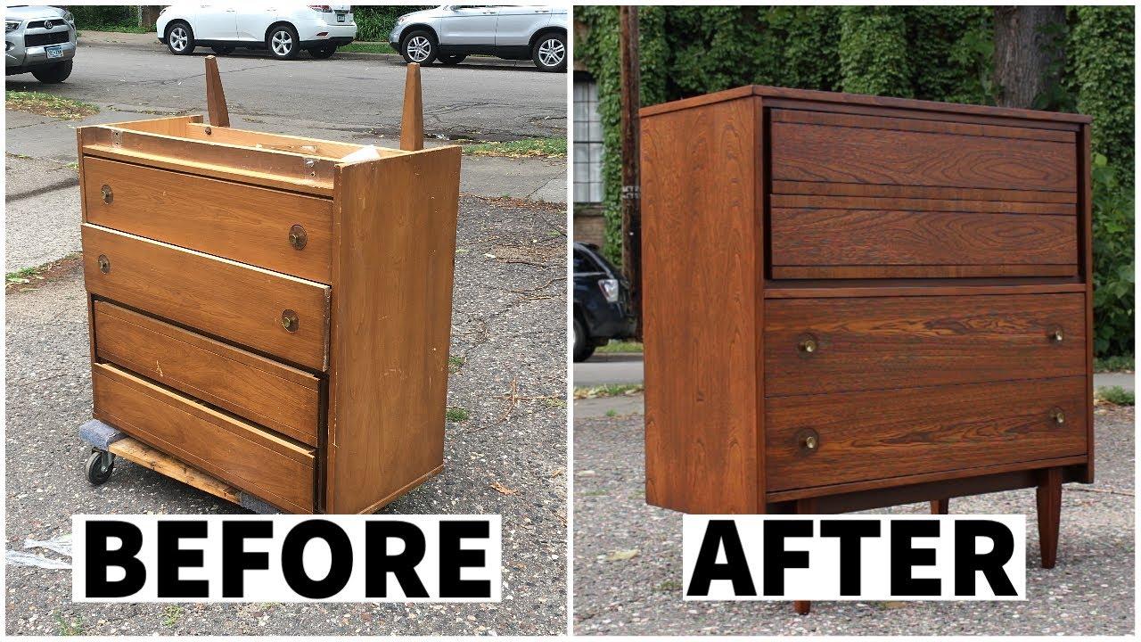Download Refinishing A Vintage Dresser | Furniture Restoration