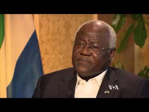 Sierra Leone President Koroma Bemoans Ebola Impact on Economy