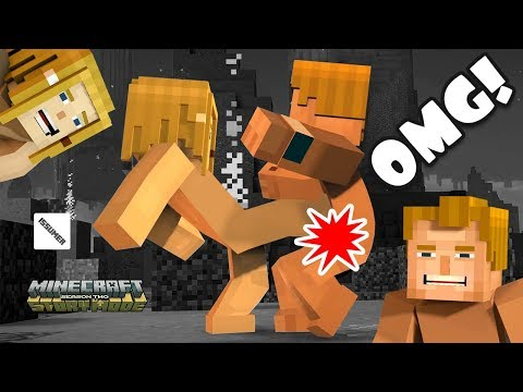 OMG! CRITICAL KICK! Minecraft Story Mode Season 2
