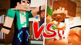 Minecraft : RICO vs POBRE !!!