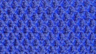 Рельефный объемный узор Вязание спицами Видеоурок 61