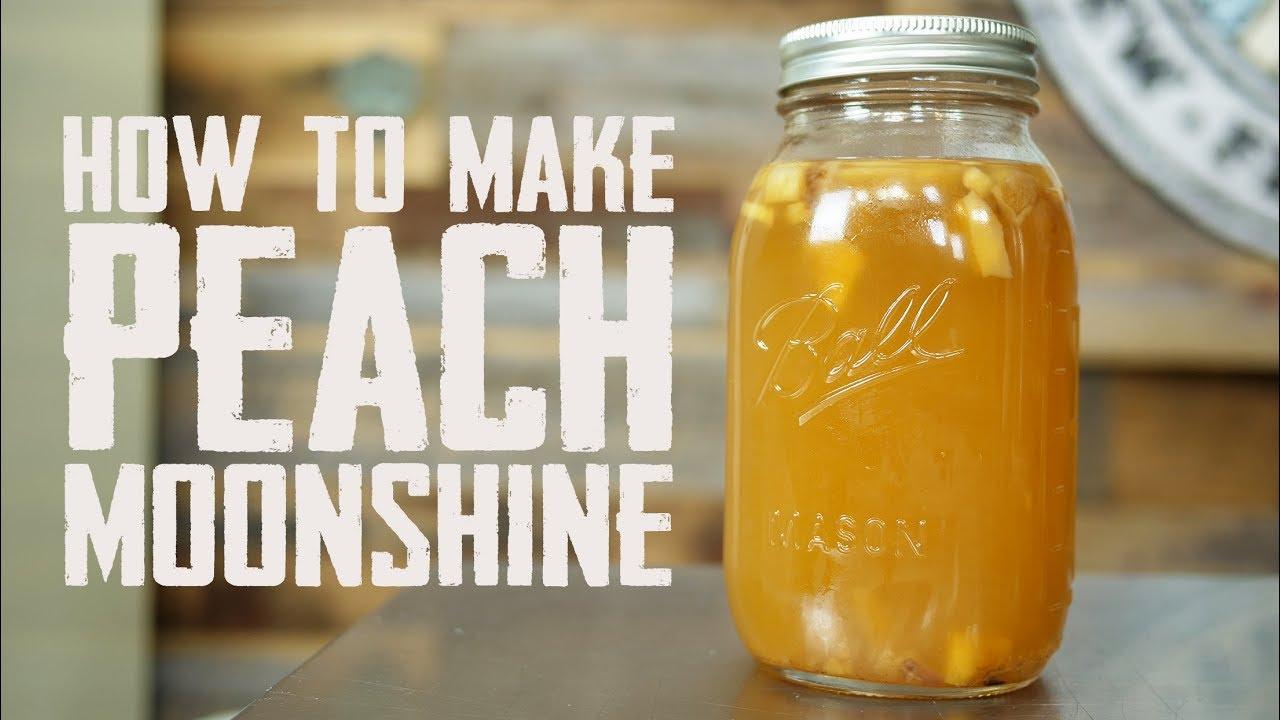 How to Make Peach Moonshine - YouTube