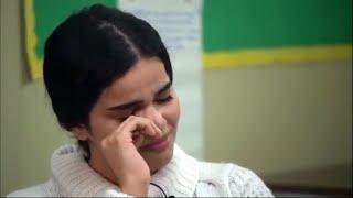 لحظة بكاء و تأثر رهف القنون بعد تبرؤ عائلتها منها