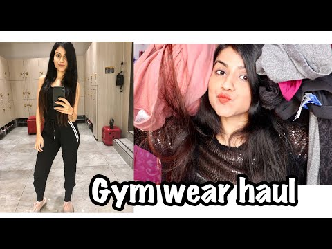 Gym Wear Try On Haul | Comfortable Clothes Haul | Gym/ Sports Wear Haul India | Romwe, Nike, Adidas