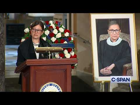 U.S. Capitol Memorial Service for Justice Ruth Bader Ginsburg