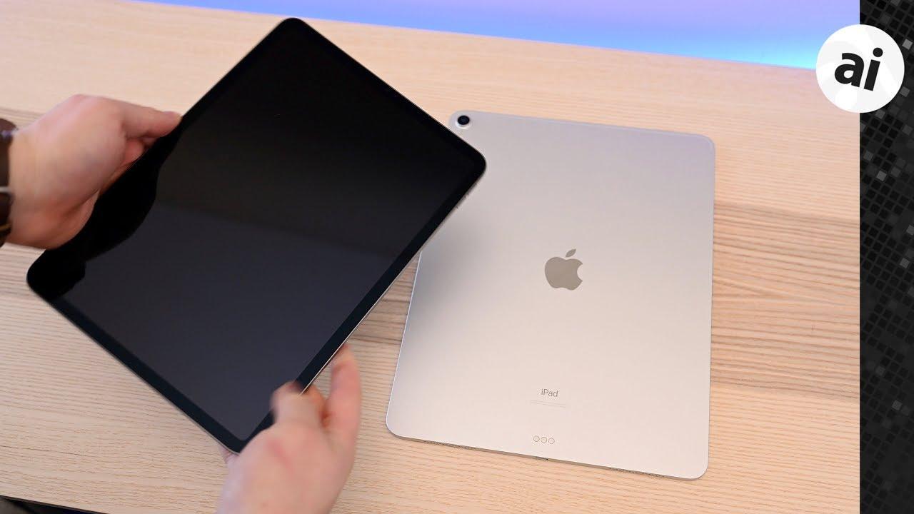 Decision Time: 2018 11-Inch iPad Pro VS 12 9-Inch iPad Pro Compared