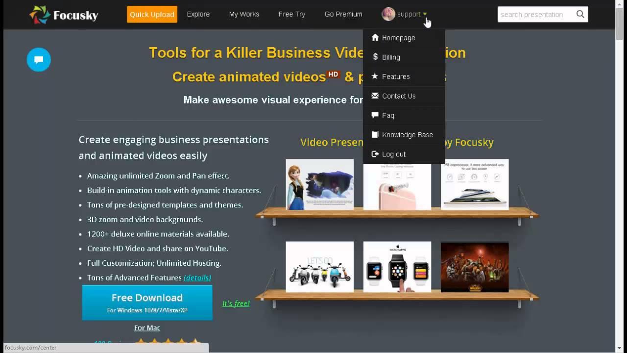 free online video presentation maker