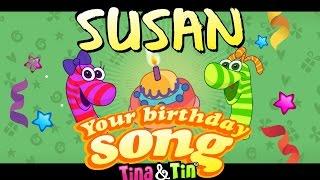 Tina&Tin Happy Birthday SUSAN
