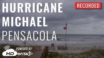 Hurricane Michael - Pensacola, FL Live Camera