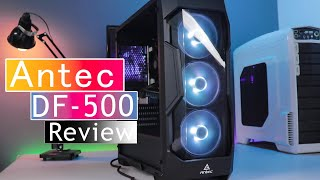 Antec DF500 RGB Gaming Cabinet In Depth Reviw | Budget Cabinet Under 5000 Rs 2019