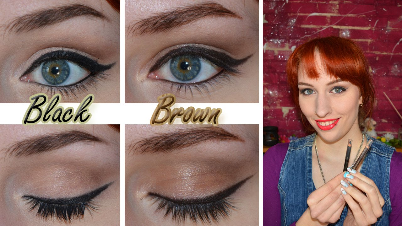 Review: Estée Lauder Pure Color intense kajal eyeliner (black and ...