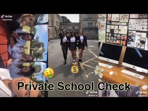Private School Check | TikTok Compilation