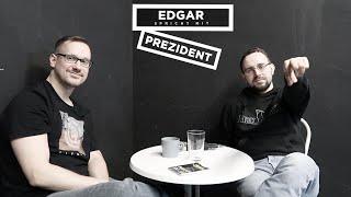 Edgar spricht mit Prezident (Alles ist voll von Göttern, Dünnhäutigkeit Rapjournalismus, Bücher)
