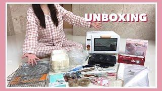 [ unboxing  ] 베이킹 도구 23만원치 언박싱…