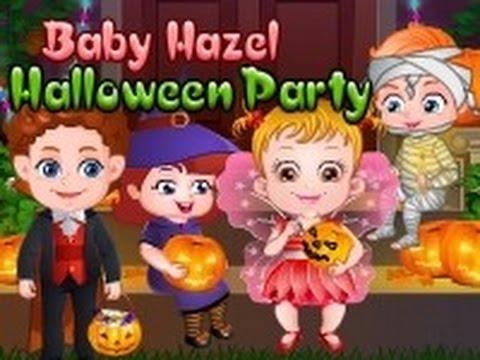 Baby Hazel Halloween Crafts Level 1 - YouTube