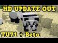 Minecraft PS4 + Xbox 360 - TU71 OUT 2 DAYS AGO