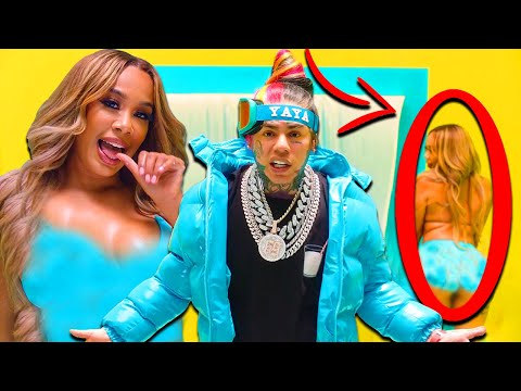 10 Things You Missed In 6IX9INE- YAYA (Official Music Video)