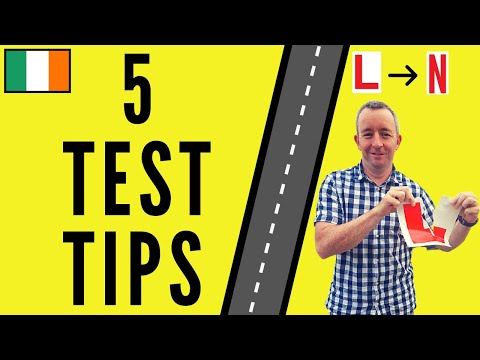 5 Tips to Pass the Driving Test
