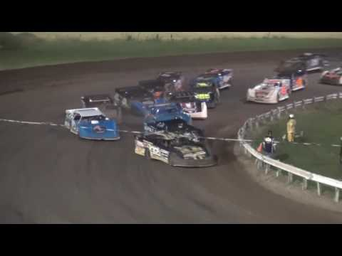 Lucas Oil MLRA Late Model feature Farley Speedway 8/8/16