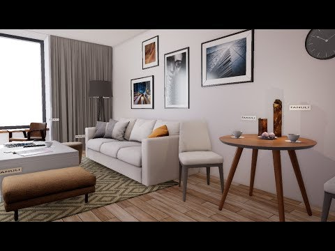 Fanuli Furniture 3D Models. (Walkthrough)