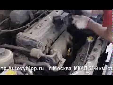Замена катализатора и гофры на Hyundai Accent. Установка универсального катализатора.