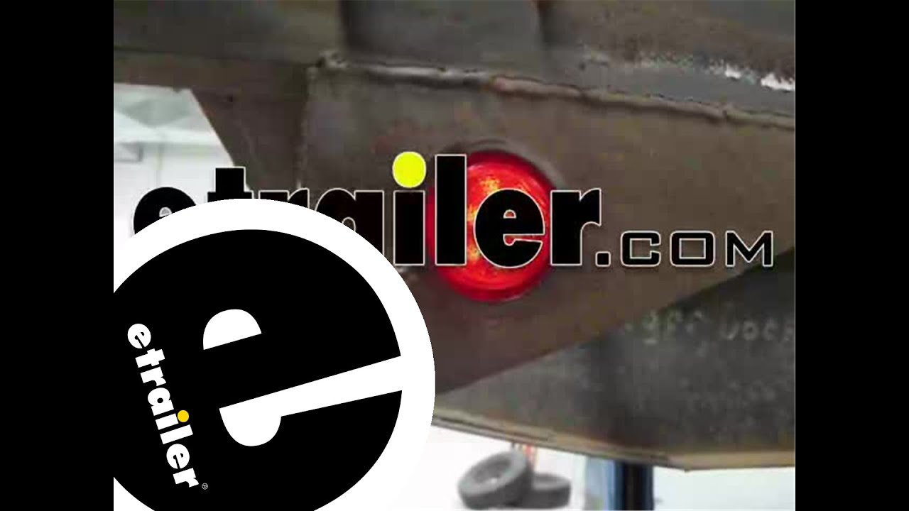 Optronics Sealed Round LED Trailer Clearance and Side Marker Light