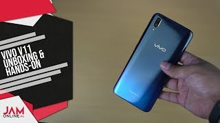 VIvo V11 Unboxing and Hands On