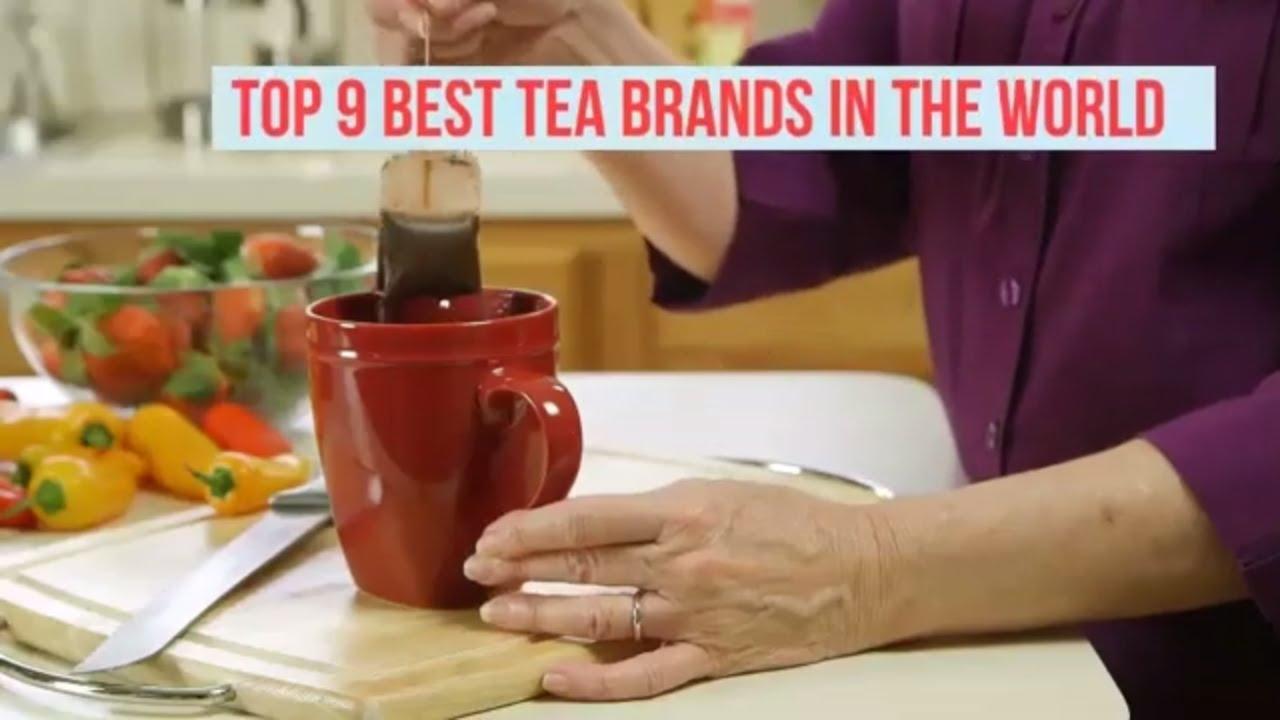 TOP 9 BEST TEA BRANDS IN THE WORLD