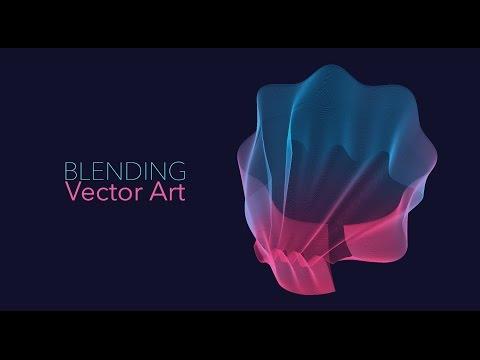 Blending Vector Art - Adobe Illustrator/Photoshop
