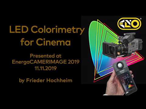 Kino Flo LED Colorimetry For Cinema ~ Chapter 1 ~ Color Science, Principle Full Spectrum White Light