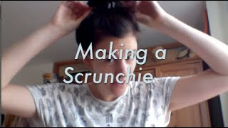 Scrunchie Making - Crafting with Liv | ARTWORKS